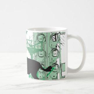 Abstract Impala Mug
