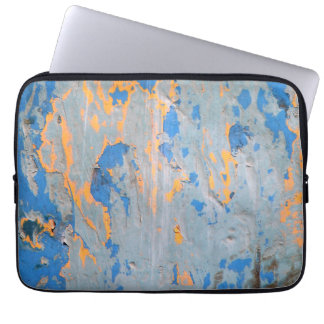 Abstract in Blue Laptop Computer Sleeves