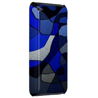 Abstract in Shades of Blue iPod Case-Mate Case