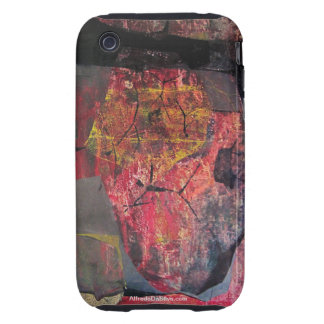 Abstract Landscape of Potosi Bolivia 21.6x34 Tough iPhone 3 Covers
