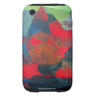 Abstract Landscape of Potosi Bolivia 21.9 x 27.6 Tough iPhone 3 Covers