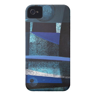 Abstract Landscape of Potosi Bolivia 21x26.9 Case-Mate iPhone 4 Cases