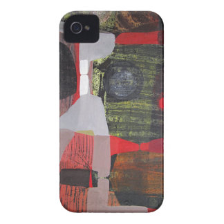 Abstract Landscape of Potosi Bolivia 28.9x19.6 Case-Mate iPhone 4 Cases