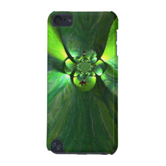 Abstract Leaf Fox Art iPod Touch (5th Generation) Cases