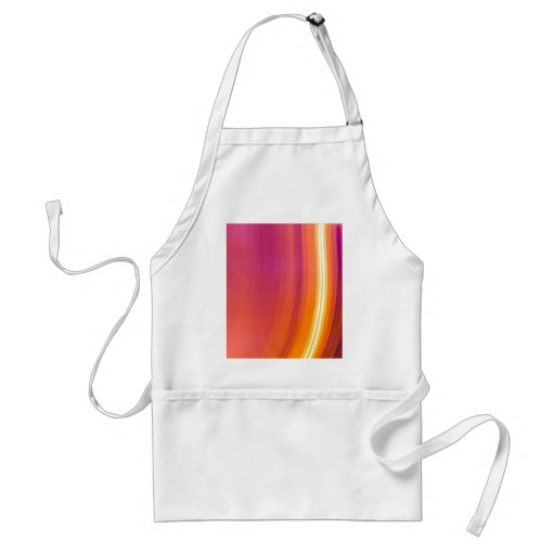 abstract light stripes apron