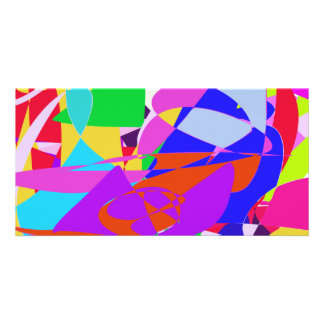 Abstract Lights Art Photo Greeting Card