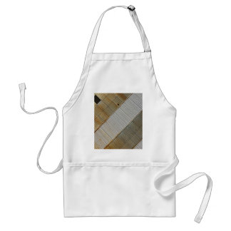 Abstract lines and stripes standard apron