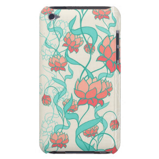 Abstract Lotus Pattern iPod Touch Cover