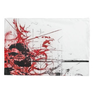 Abstract Love Poetry Airbrush Art Pillowcase