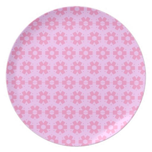 Abstract Melamine Plate
