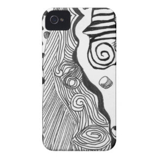 Abstract mind Case-Mate iPhone 4 case