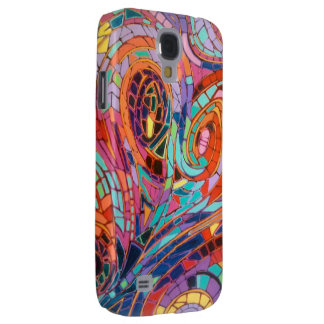 Abstract Mosaic Heart Phone Case