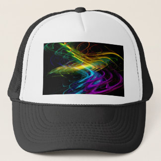 abstract multicolored no. 1 created by Tutti Trucker Hat