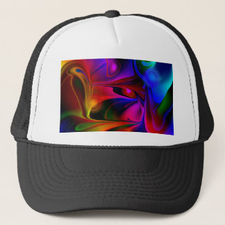 Abstract multicolored No 2 by Tutti Trucker Hat