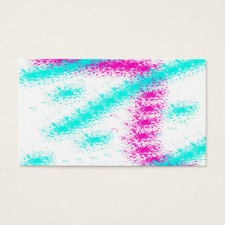 Abstract neon pink  teal watercolour stripes