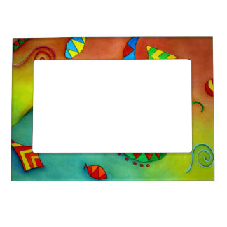 Abstract Ocean magnetic Picture Frame