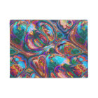 Abstract Oil Painting Inspired Doormat