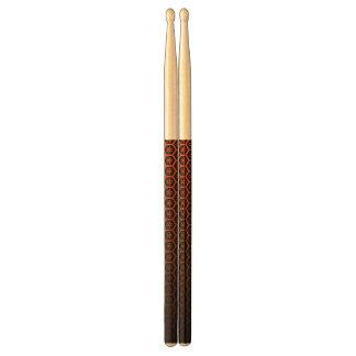 abstract orange&black drumsticks