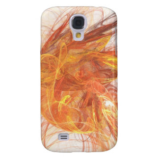 Abstract Oranges and Browns iPhone 3 Case