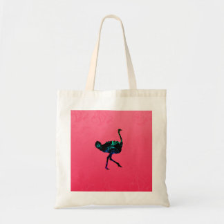 Abstract Ostrich Budget Tote