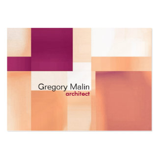 abstract pack of chubby business cards