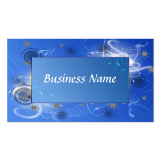 Abstract Pack Of Standard Business Cards