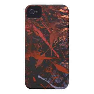 Abstract Paint Splatter Art iPhone 4 Case-Mate Cases