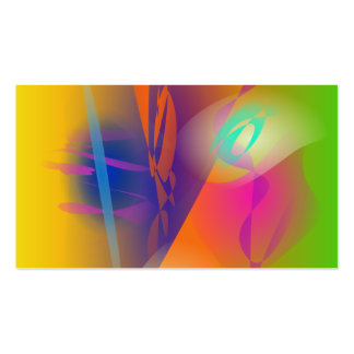 Abstract Painting Business Card Templates
