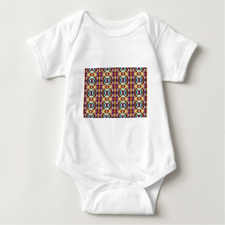 Abstract Pansy Flower Fractal Infant Creeper