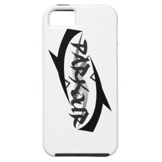Abstract Parkour iPhone 5 Cases