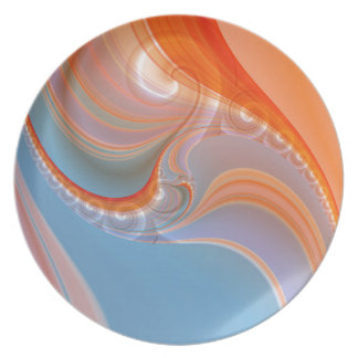 abstract pastell created by Tutti Dinner Plates