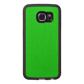 Abstract Pattern green Wood Phone Case