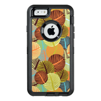 Abstract pattern OtterBox defender iPhone case