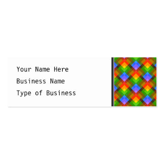 Abstract Pattern. Pack Of Skinny Business Cards