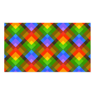 Abstract Pattern. Pack Of Standard Business Cards