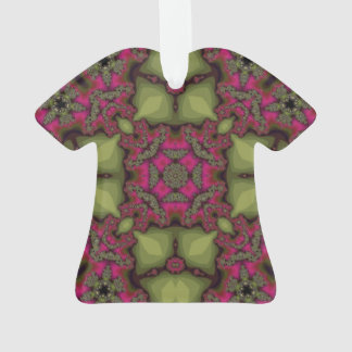 Abstract Pattern pink yellow.jpg Ornament