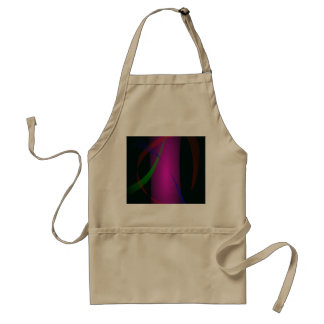 Abstract Pink Waterfall in the Dark Apron