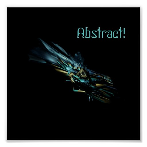 Abstract! poster