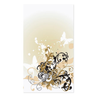 Abstract Profile Card Business Cards