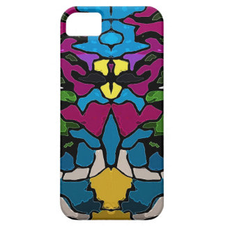 Abstract psychedelic trippy Medusa design iPhone 5 Case