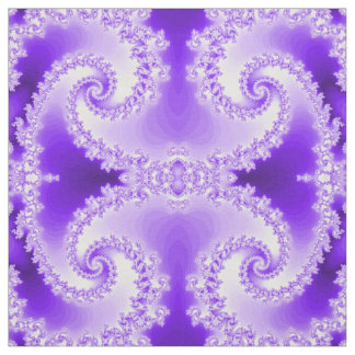 Abstract Purple Fabric