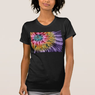 Abstract Purple Tie Dye T-shirts