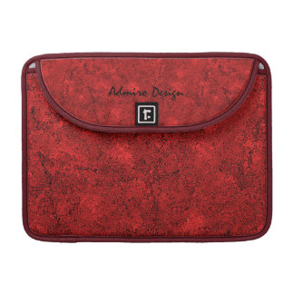 """Abstract Red Macbook Pro 13"""" Sleeves For MacBooks"""