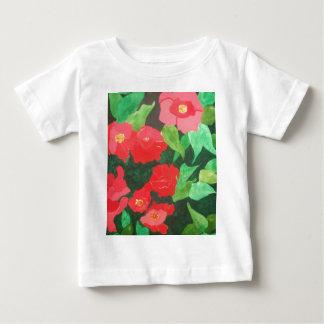 abstract roses baby T-Shirt