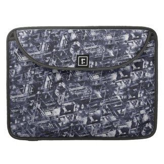 Abstract Rugged Meteorite Pattern Sleeve For MacBooks
