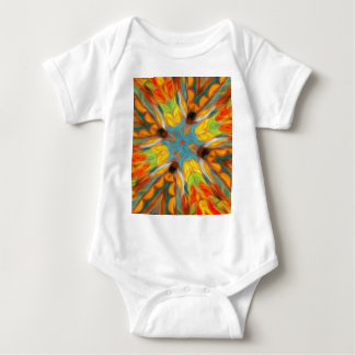 Abstract Southwestern Design Baby Bodysuit