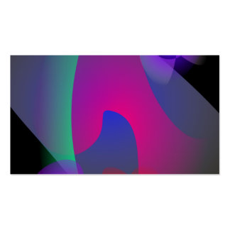 Abstract Space Business Cards