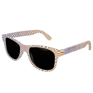 Abstract Squares 10 Sunglasses