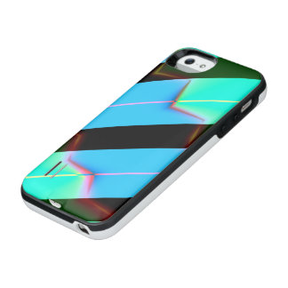 Abstract Stripe Pattern iPhone SE/5/5s Battery Case