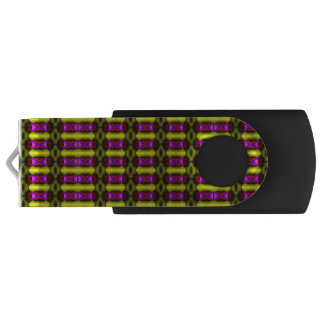 Abstract stylish art USB flash drive